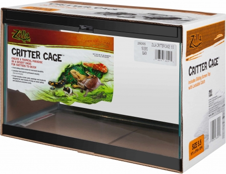 5.5 Gallon Glass Citter Cage