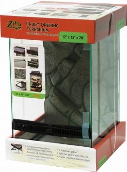 Glass Zilla Front Open Terrarium 12X12X20
