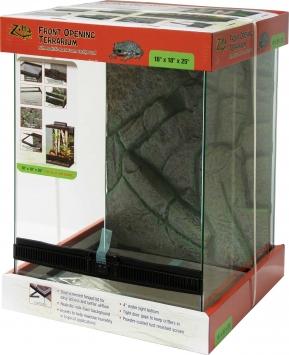 Glass Zilla Front Open Terrarium 18X18X25