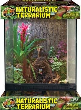Glass Naturalistic Terrarium 18X18X24 Inch