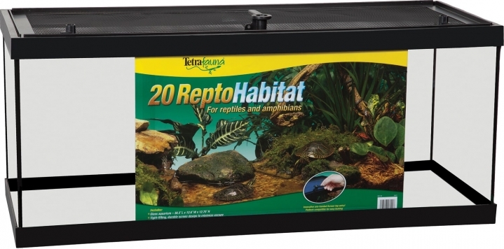20 Gallon Long Glass Tetrafauna Reptohabitat