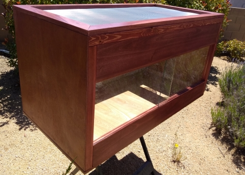 Configure Your Own Custom Wood Reptile or Amphibian Cage